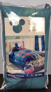 Disney-Finding-Dory-Twin-Reversible-Comforter-Fish-Ocean-Nemo