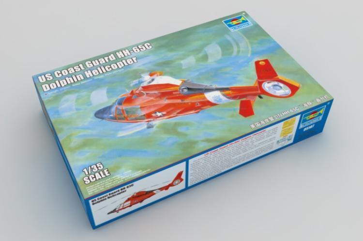 Trumpeter 1 35 05107 USN Coast Guard HH-65C Dolphin