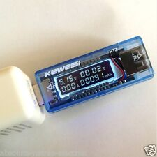USB OLED Charger detector Capacity Current Voltage Detector Meter Battery Tester