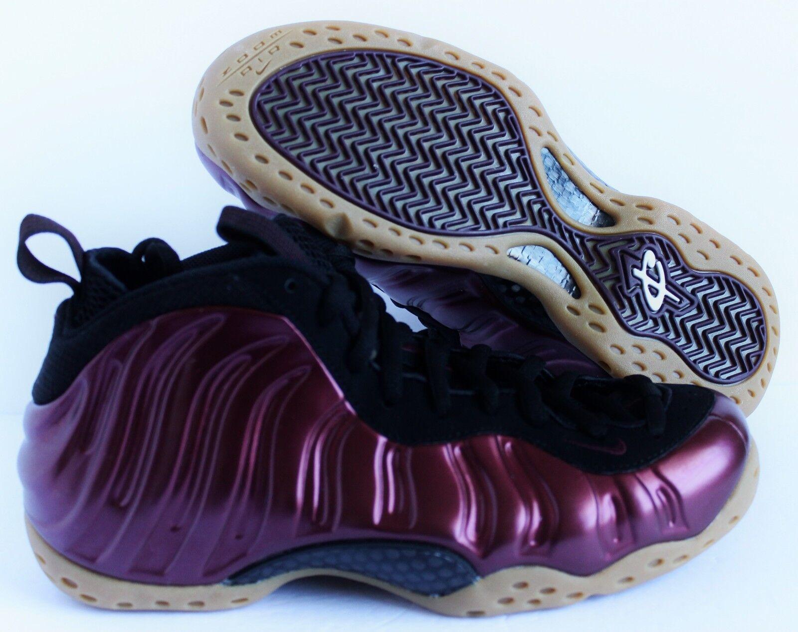 Los hombres de SZ Nike Air Foamposite one night maroon-Negro-gum SZ de 9 [314996-601] cd6f06