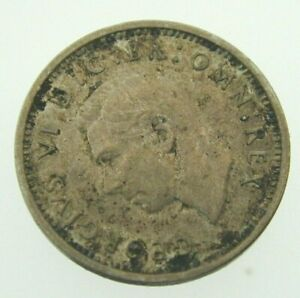 King-George-VI-1937-Threepence-Coin-50-Silver-16-3-mm-diameter-1-4-grams