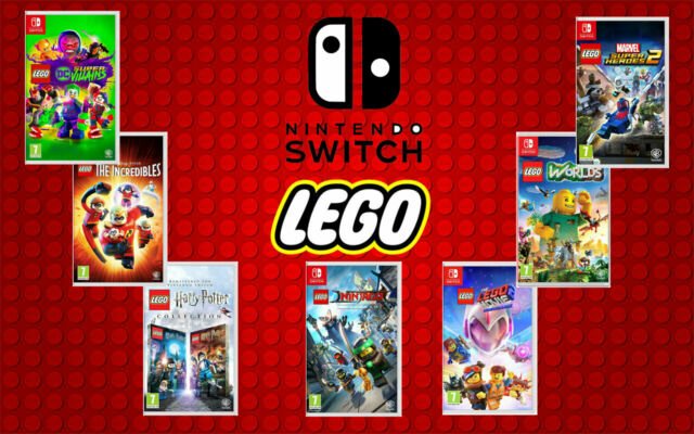 LEGO Nintendo Switch Games - New & Sealed - lego switch Game Range - Fast P&P