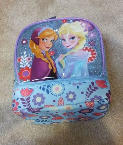 Disney Store Frozen Elsa and Anna Lunchbox NEW with Tags