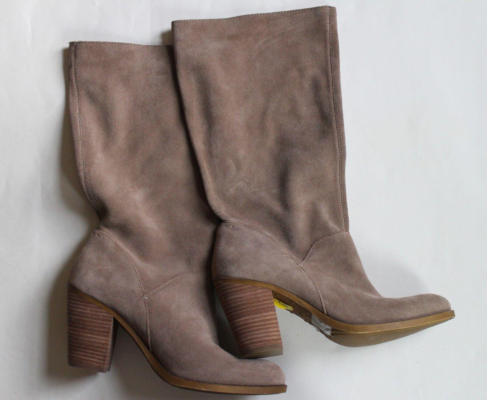 Gamuza Lucky Brand botas de vaquero occidental Suave Slouchy