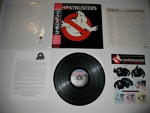 Ghostbusters-Soundtrack-QUIEX-Audiophile-Japan-039-84-1st-EXC-ULTRASONIC-Clean