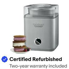 Cuisinart ICE-30BC Pure Indulgence 2Qt. Frozen Yogurt & Ice Cream Maker