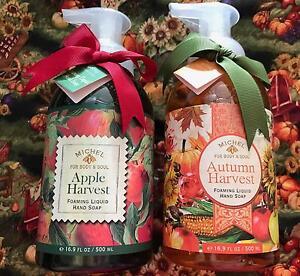 Set Of 2 Michel Foaming Liquid Hand Soap Fall Autumn