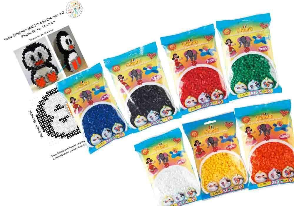Bastel- & Kreativ-Bedarf für Kinder Hama Perlen Pastell gemischt 3.000stueck 1beutel günstig kaufen Kreativset-Perlen für Kinder