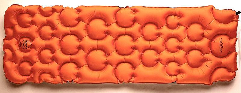 Cabela's XPG arancia Lightweight Sleeping Pad 72 x 23.5 x 2.5 nuovo