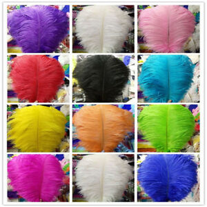 Hot-sale-New-10-100pcs-High-Quality-6-24-inch-15-60-cm-Natural-Ostrich-Feathers