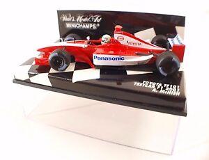 Minichamps-Toyota-TF101-Testcar-F1-2001-Allan-McNish-neuf-en-boite-MIB-1-43