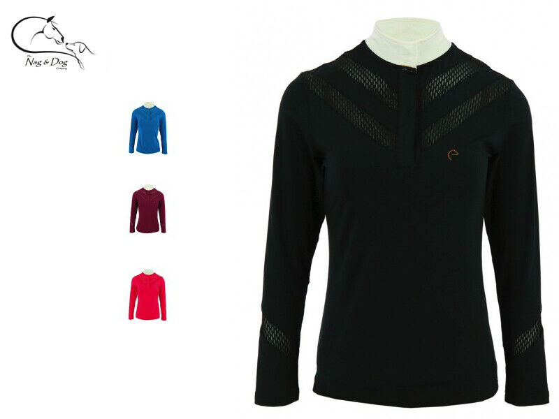 Equitheme Ladies Technical Competition Show Shirt Jumping Dressage FREE P&P