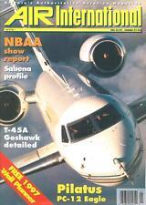 AIR INTERNATIONAL V52 N1 RN WESTLAND WYVERN SUEZ_BELGIAN AF FAB_T-45 USN_PC-12_S