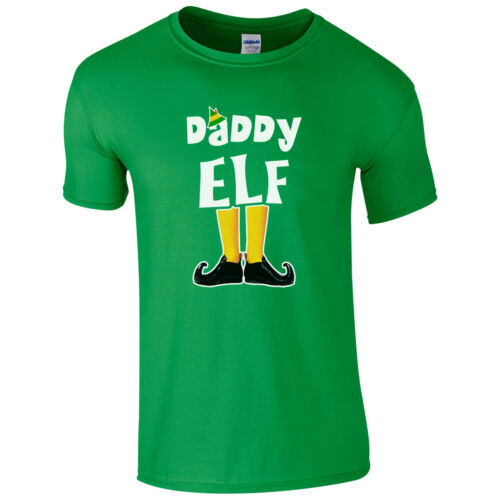 Funny Cute Christmas Pyjama PJ/'s Idea Gift Kids Mens Top Elf Family T-Shirt