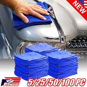 50-Pack-Microfiber-Cleaning-Cloth-Towel-No-Scratch-Rag-Car-Polishing-Detailing