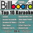 Billboard Top 10 Karaoke 1990's Vol. 3 by Sybersound