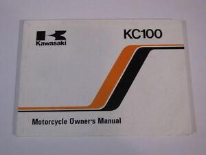 KAWASAKI-KC100-KC100-C4-OWNERS-OWNER-OWNER-039-S-MANUAL