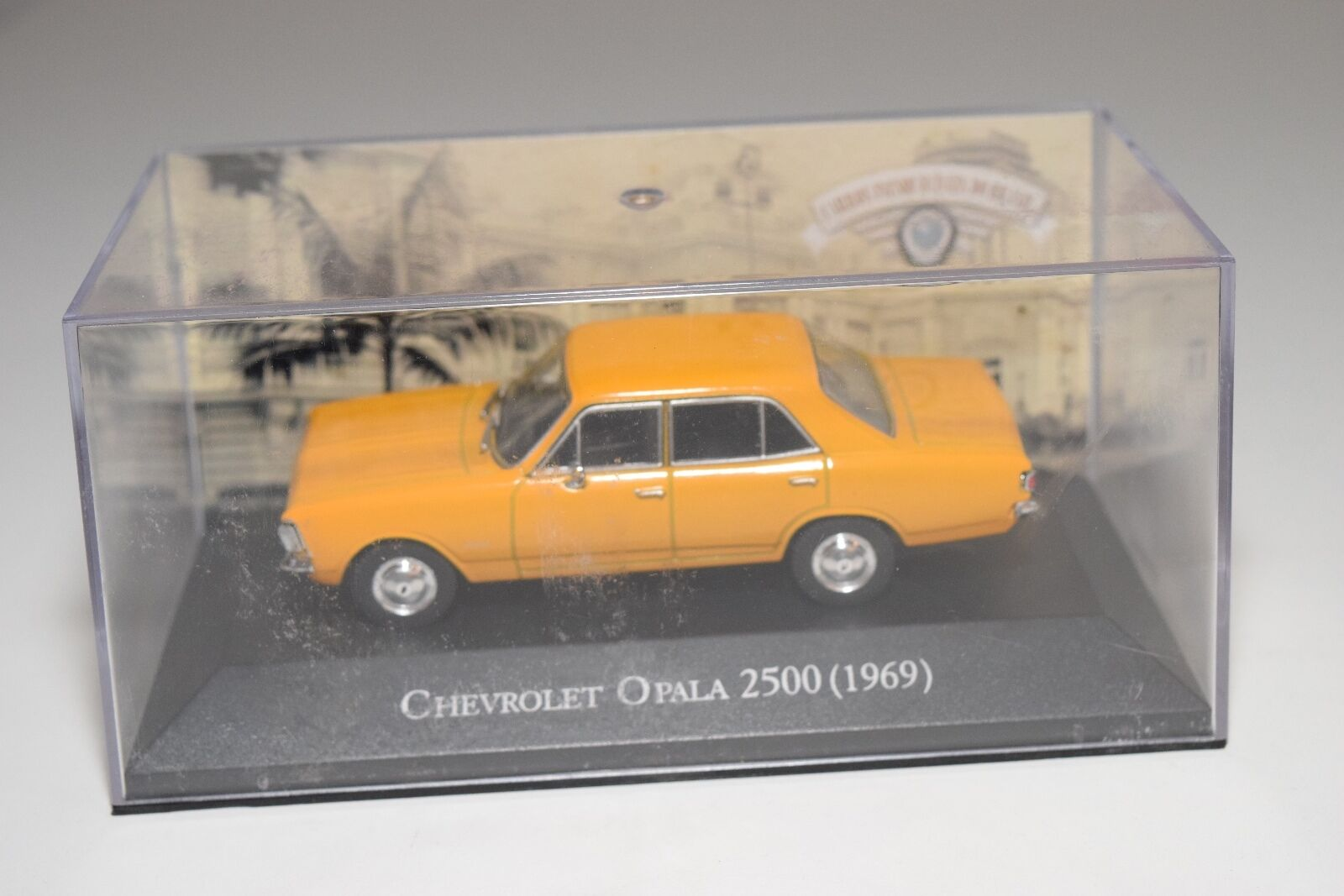 . ALTAYA IXO CHEVROLET OPALA 2500 1969 orange-YELLOW MINT BOXED