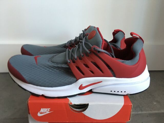 86faf7ca86 NEW Nike Air Presto Essential Men's Sz 14 Running Shoes Gym Red Gray 848187- 008