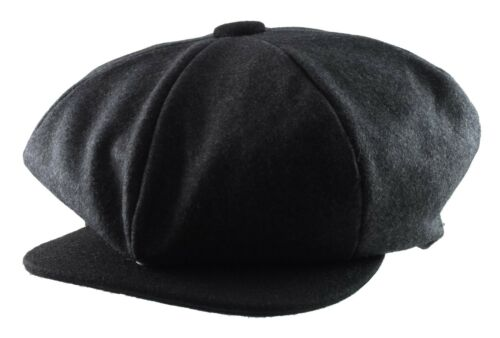 Rasta /'Big Apple/'  Oversized 100/% Wool Newsboy 8 Panel Hat