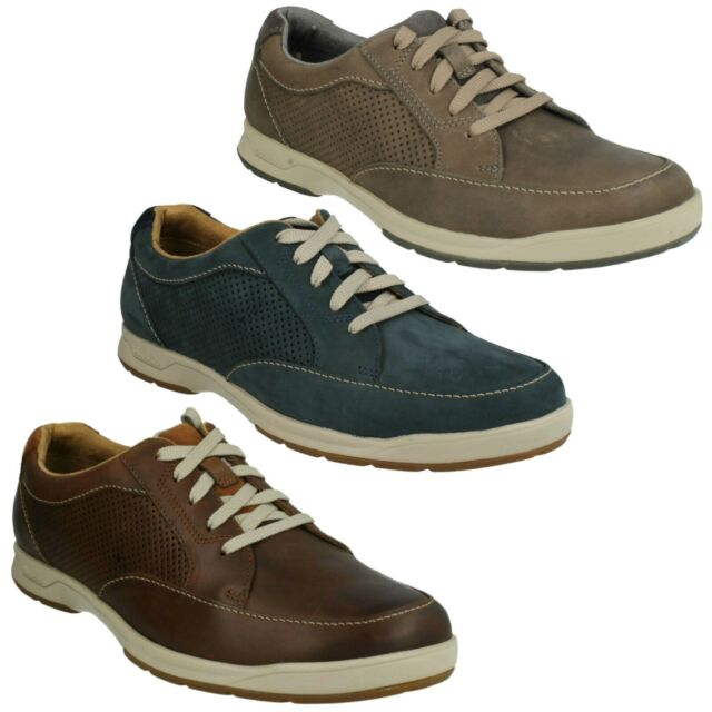 a4b1e5efc2b730 STAFFORD PARK 5 MENS CLARKS LACE UP CASUAL LEATHER SPORTS TRAINERS SHOES  SIZE