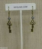 Brass Key Earrings Inspired By 50 Shades Of Grey Christian Gray Sog Trilogy Anna