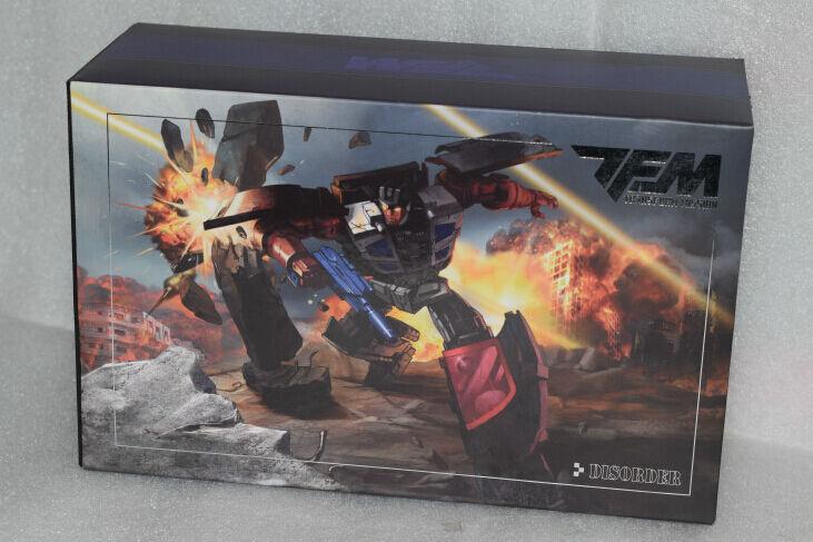 NUOVO transformmission TFM Transformers M01 disordine wildrider Menasor in magazzino