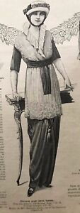 MODE-ILLUSTREE-August-17-1913-sewing-pattern-BALMAIN-DRESS