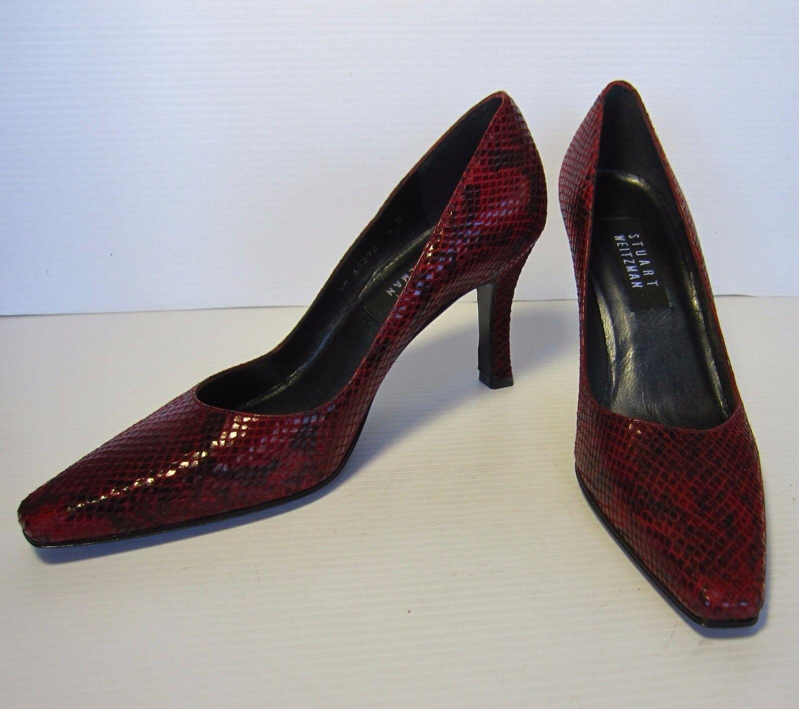 la vostra soddisfazione è il nostro obiettivo Stuart Weitzman 3.5  Heels scarpe 8 B rosso Animal Animal Animal Print  più preferenziale