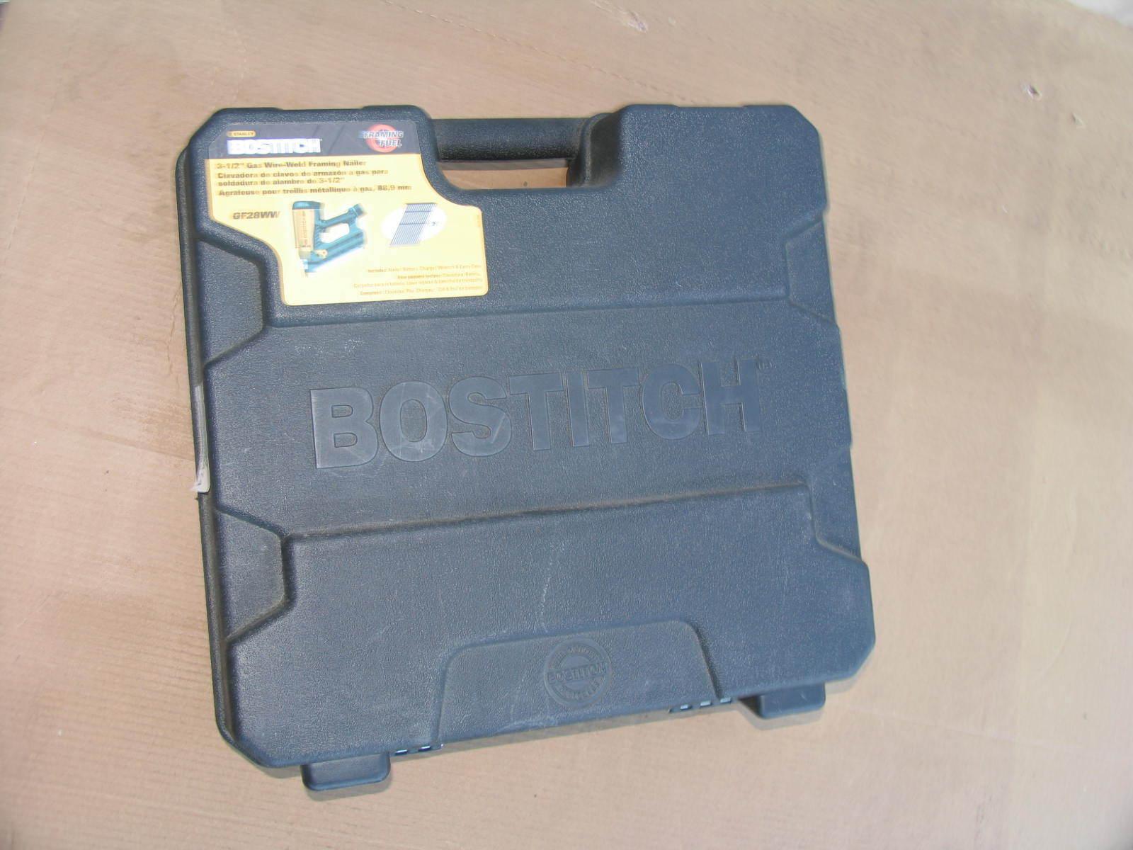 Stanley Bostitch GF28WW Cordless Wire Weld Framing Nailer W  case
