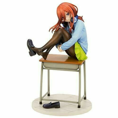 The Quintessential Quintuplets Miku Nakano 1//8 PVC Figure PP822 4934054010264