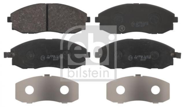 Bremsbelagsatz, Scheibenbremse für Bremsanlage Vorderachse FEBI BILSTEIN 16680