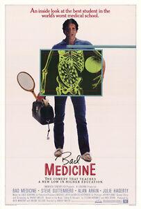 BAD-MEDICINE-Movie-POSTER-27x40-Steve-Guttenberg-Alan-Arkin-Julie-Hagerty-Bill
