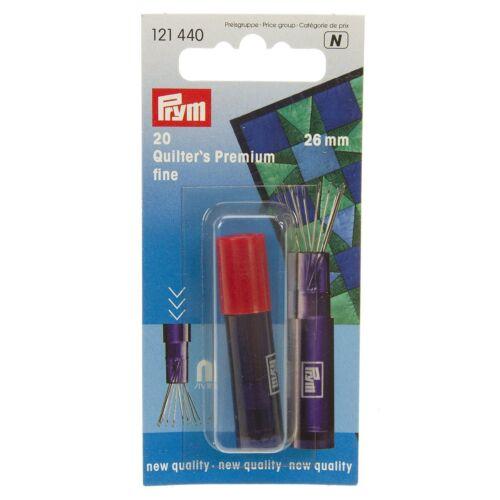 Prym Fine Premium Quilting Needles 26mm