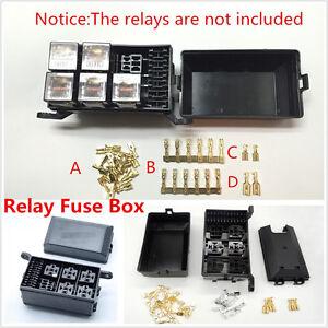 image is loading car-fuse-relay-box-socket-fuse-relay-holder-