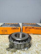 Timken 41106 Roller Bearing Cone Lot Of 2 Nos