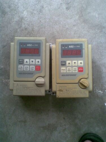 Used 1Pc Inverter AS2-IPM AS2-104R 0.4KW 220V Tested sr
