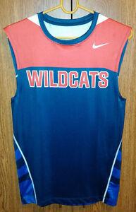 Mens-Fit-Dri-Wildcats-Shirt-Jersey-Large-NCAA