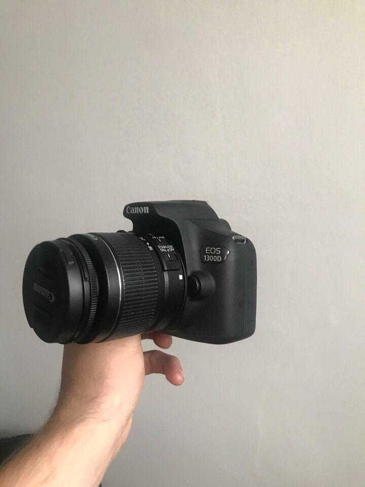 Canon, Canon eos 1300d, 18 megapixels