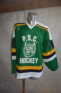 MAILLOT-HOCKEY-SUR-GLACE-ALPHA-P-S-C-HEFRON-45-TIGERS-TAILLE-XL-JERSEY