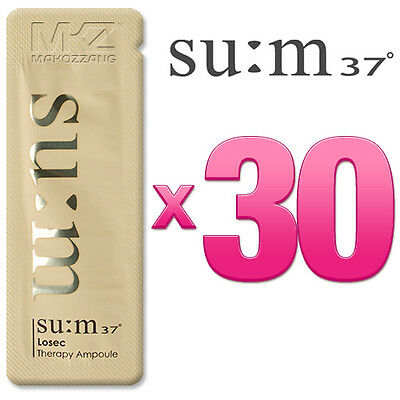SU:M37 Losec Therapy Ampoule 30pcs 30ml Anti-Aging Wrinkle SUM37 + Free Gift