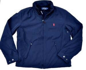 NWT-POLO-RALPH-LAUREN-PERRY-COAT-JACKET-Navy-LINED-SPRING-FALL-WINTER-M-L-XL-XXL