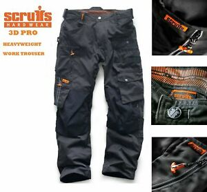 Scruffs-3D-Pro-Pantalon-Trabajador-Workwear-oscuro-de-plomo-Grafito-Colourway-Plus-Comercio