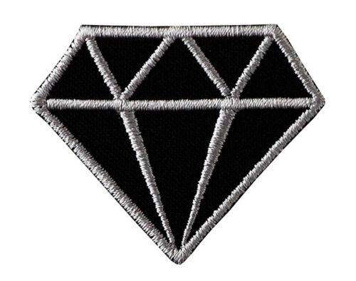 Parche de divisa diamante embr parche por parche de imagen en movimiento