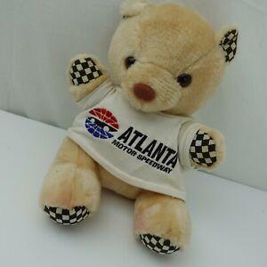 """Atlanta Motor Speedway Plush Bear 10"""" Stuffed Animal Toy"""