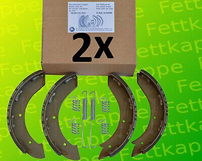 incl 2x Orig Federn = für 2 Achsen Bremsbacken Peitz BPW R234//76-230x40 kpl