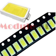 100pcs 120 Smd Smt Ee132 5730 White 6050 7000k Led Light Bead 50 55lm 33v 36v