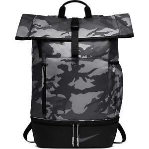 NIKE-Sport-All-Over-Print-Golf-Bag-Backpack-Anthracite-Black-Camo-BA5756-036
