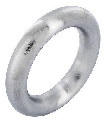Edelstahlring Edelstahlringe Herrenring Herren Ring Edelstahl Silber 5mm massiv