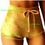 Sexy-Women-Summer-Pants-Stylish-High-Waist-Shorts-Short-Belt-Beach-Trousers thumbnail 10